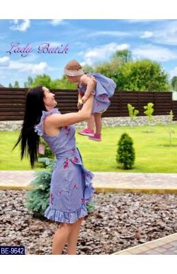 Набор(мама+дочка) BE-9642