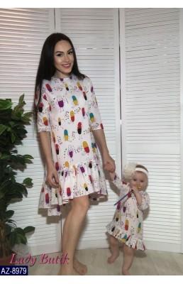 Набор(мама+дочка) AZ-8979