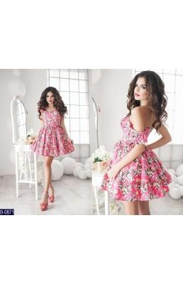 Платье B-0871